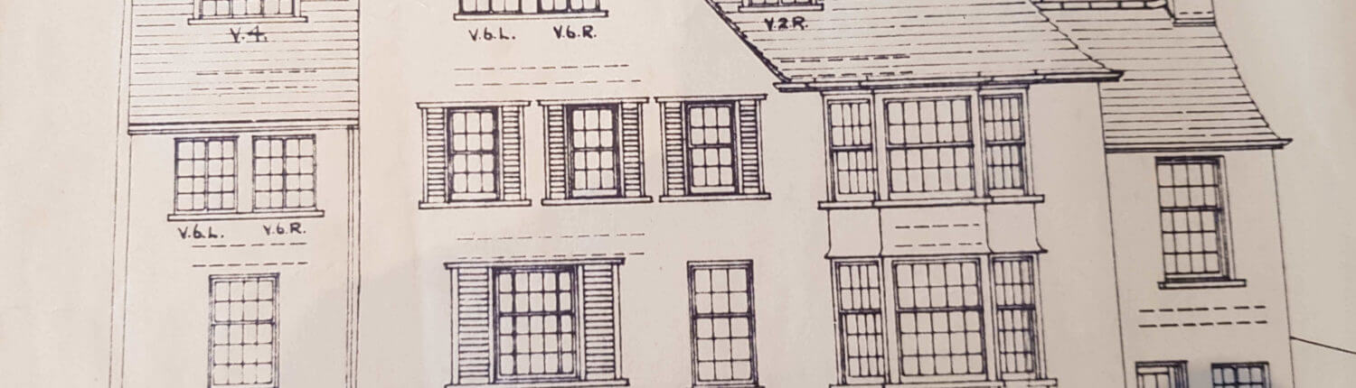 Prestwich Surveyors. Building Plan of an old traditional house
